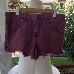 Free people Jean Shorts.